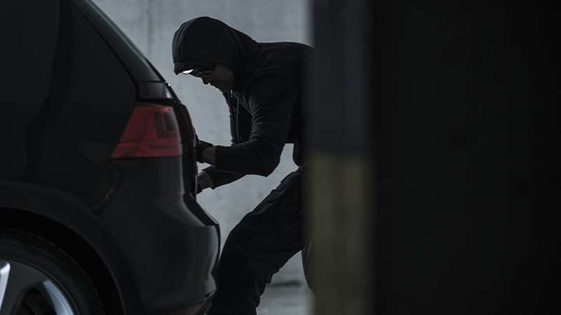 Over 300 vehicle crimes reported in Radlett in 2020